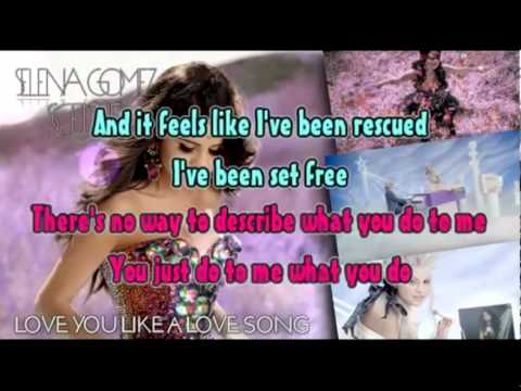 Селена Гомес - Love You Like A Love Song | караоке