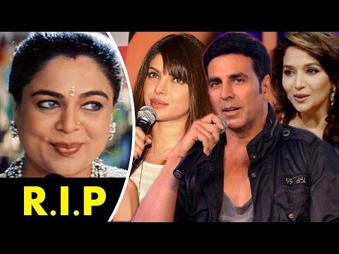 Bollywood Celebs REACTS On Reema Lagoo D€ATH - Madhuri Dixit , Akshay Kumar, Priyanka Chopra