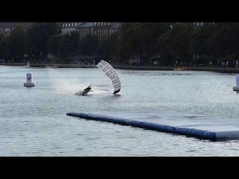 """Nørrebro Swoop Challenge Film (Paragliding Copenhagen """"Søerne"""" 2017)"""