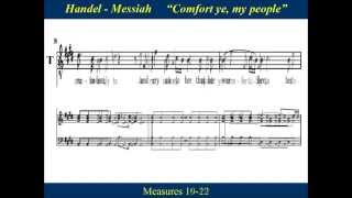 2- Handel Messiah Part 1 - Comfort Ye My People - Tenor