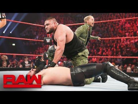 Seth Rollins vs. AOP - Raw Tag Team Championship Match: Raw, Nov. 5, 2018