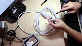 LED прожектор Brille HL-11 10W обзор распаковка(Прожектор Brille HL-11/10W LED CW IP65 L123-001 Монтаж: Врезной Ширина: 110 мм Мощность: 10 Вт Соответствие лампе накаливания..., 2016-03-01T20:25:21.000Z)