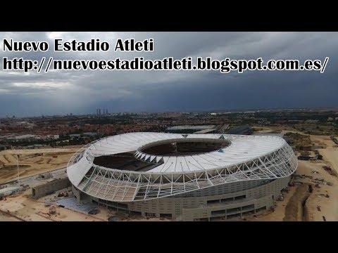 Nuevo Estadio Atlético de Madrid. New Stadium Wanda Metropolitano (25/6/2017)
