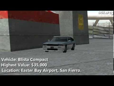 GTA San Andreas - Import/Export Vehicle #11 - Blista Compact