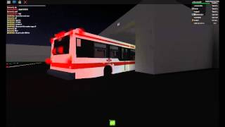 ROBLOX Buses: [Mini-Clip] TTC D40LF Enters the Garage