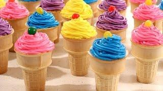 Ice Cream Cone Cupcakes Recipe - Amy Lynn's Kitchen