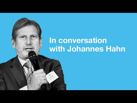 Conversation with Commissioner Johannes Hahn