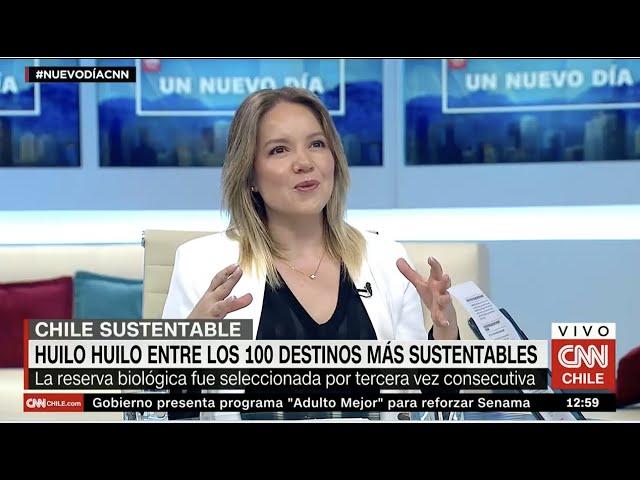 Cata Droguett CNN -  Reserva Huilo Huilo premiada