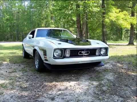 End of the first Generation, 73 Mustang