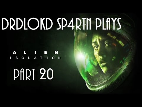Alien Isolation part 20 (Restore Access To Distribution)