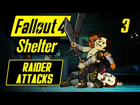 Fallout Shelter PC - RAIDER ATTACKS - Fallout Shelter PC Gameplay - Vault 88 #3