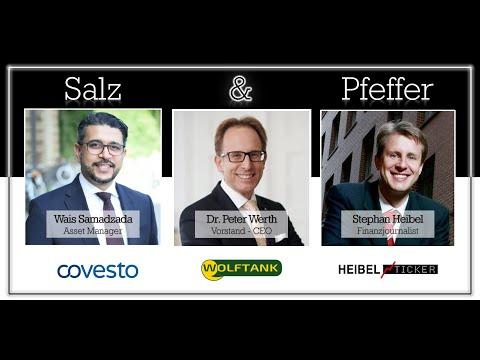 Dr. Peter M. Werth, CEO Wolftank-Adisa Holding AG, bei Salz & Pfeffer zum Mittag