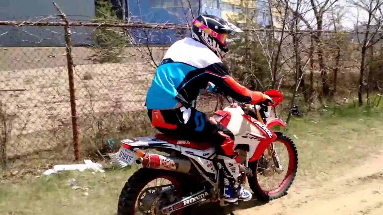 CRF250L Rally suspension TEST