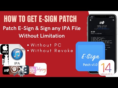 Esign iOS App - how to sign any IPA files on iPhone - The Best Cydia Impactor Alternative.