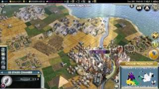Civilization 5 Science (Space) Victory Animation