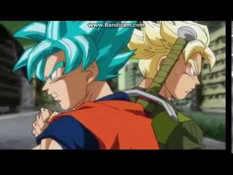 Goku Vs Zamasu Trunks Vs Goku Blak :D