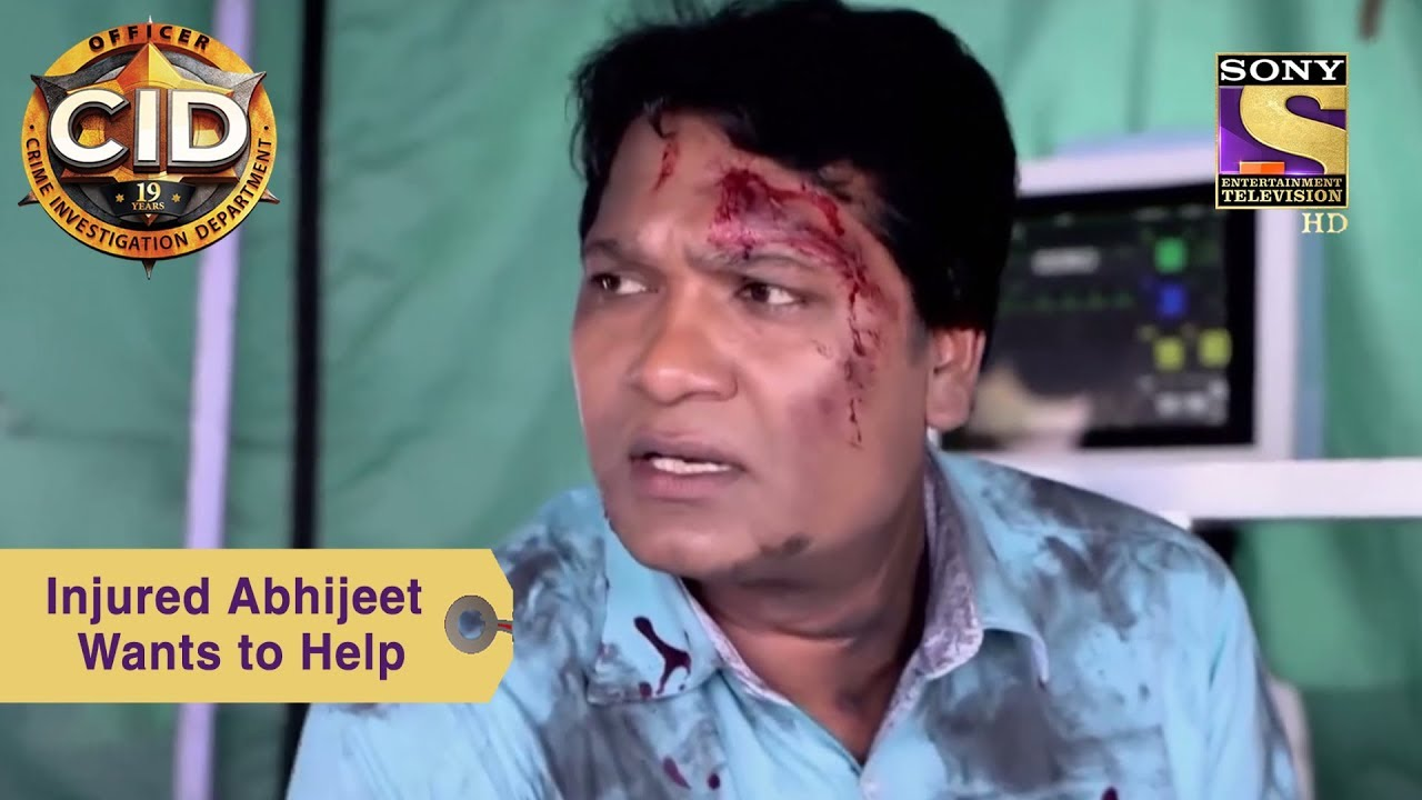 Your Favorite Character | Injured Abhijeet Insists On Helping | CID