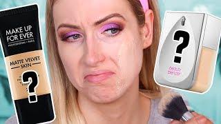 WAIT- WHAT'S GOING ON... Beauty Blender Foundation vs Makeup Forever Matte Velvet Foundation