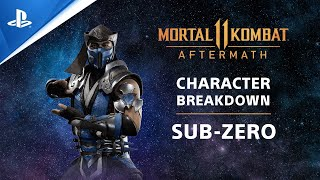 Mortal Kombat 11 Aftermath - Deep Freeze: Sub-Zero Character Breakdown | PS Competition Center