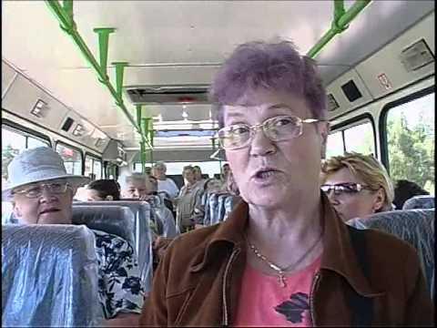 Новый автобус 29 маршрута. 07.2005