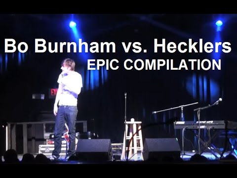 Bo Burnham vs Hecklers  EPIC COMPILATION