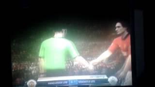 9.Spieltag MANU gegen Newcastle