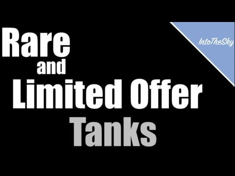 World of Tanks Blitz: Rare and Limited Offer Tanks Showcase