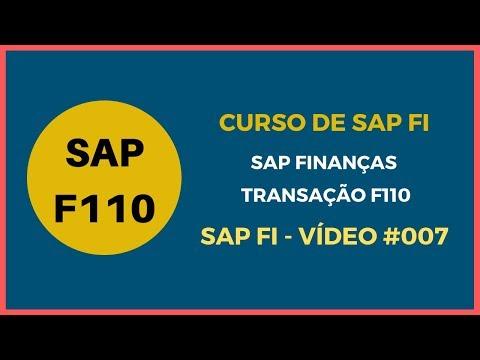Sap Curso Curso De Sap Fi Sap Módulo Finanças Simulação De Pagamentos Transação F110 Vídeo 015