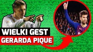 Pique OBRONIŁ Sergio Ramosa przed kibicami!