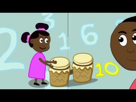Counting to 10 in African Languages - Preview