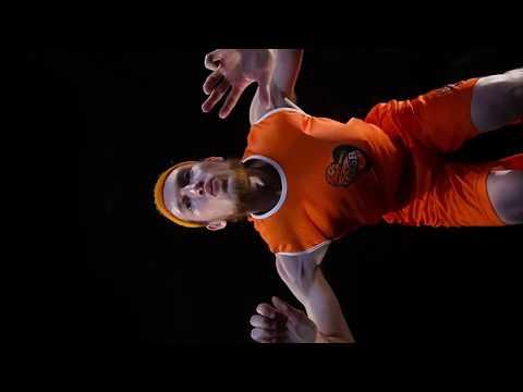 Antoine Eito : publicité Tarkett Sports (Le tir)