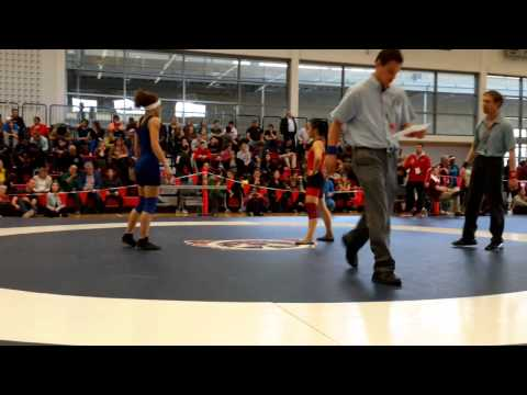 2015 Junior National Championships: 51 kg Vivian Mark vs. Alexandria Town