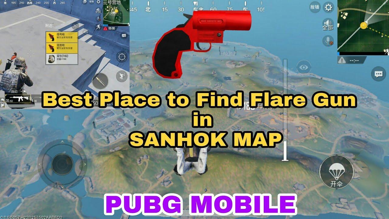 Pubg Mobile Flare Gun Location - Premium Android