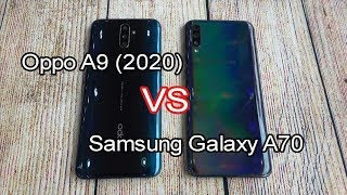 Oppo A9 (2020) vs Samsung Galaxy A70 | SpeedTest and Camera comparison