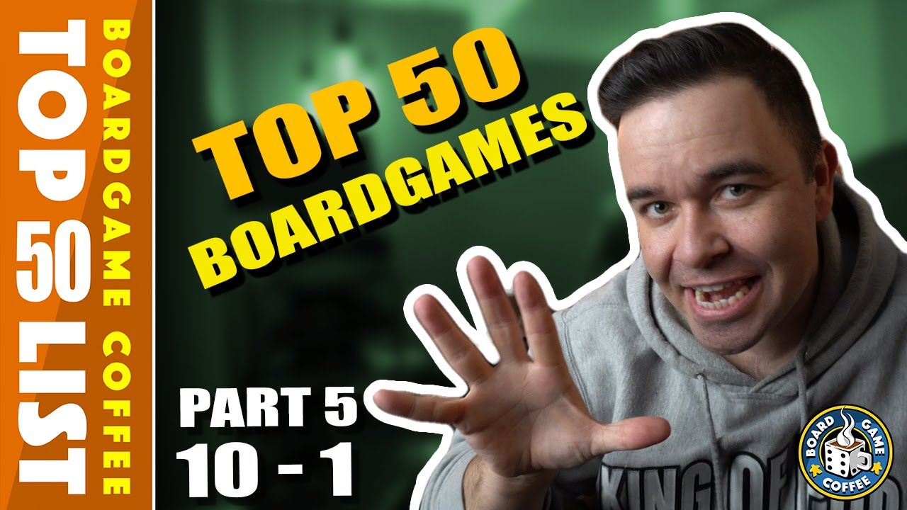 Top 50 Board Games, Part 5 of 5