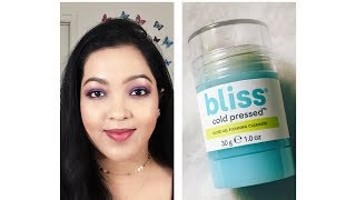 Review on Bliss Cleansing Stick