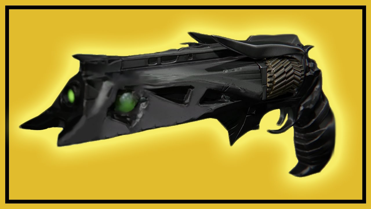 Destiny thorn exotic hand cannon weapon bounty mission youtube