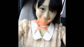 Slide show with music showing images of Umeta Ayano of AKB48 Team 4.