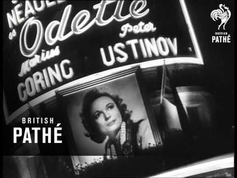 Premiere Of Odette (1950)