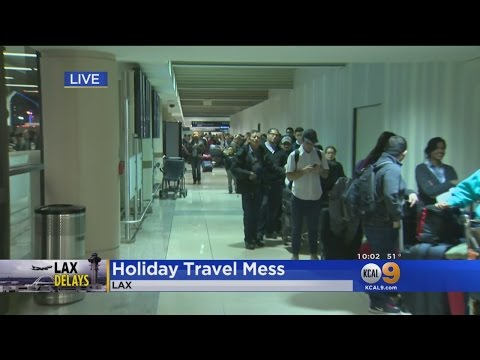 Weather, Traffic Creates Nightmare For Thousands Of LAX Travelers Thursday