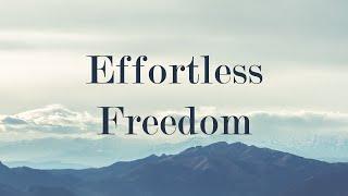 Libertad sin esfuerzo