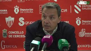 Resumen de la rueda de prensa de Tito Ramallo - Jornada 10 (Temp. 17/18)
