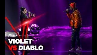 """Violet e Diablo  """"Cosa succederà alla ragazza"""" - Battles - TVOI 2019"""