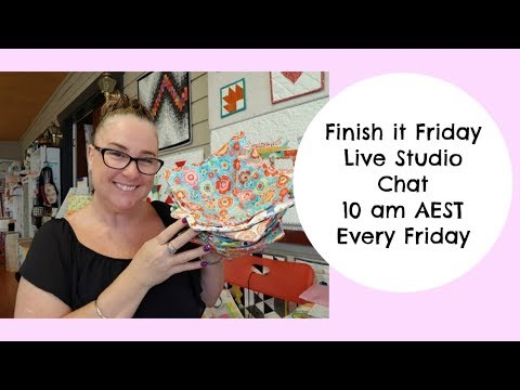 Darvanalee Designs Studio - Weekly Crafty Vlog - Live Studio Chat Replay