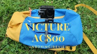 Victure Cámara Deportiva AC800: Unboxing Review Español