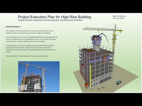 High Rise Building Project Execution Plan - YouTube