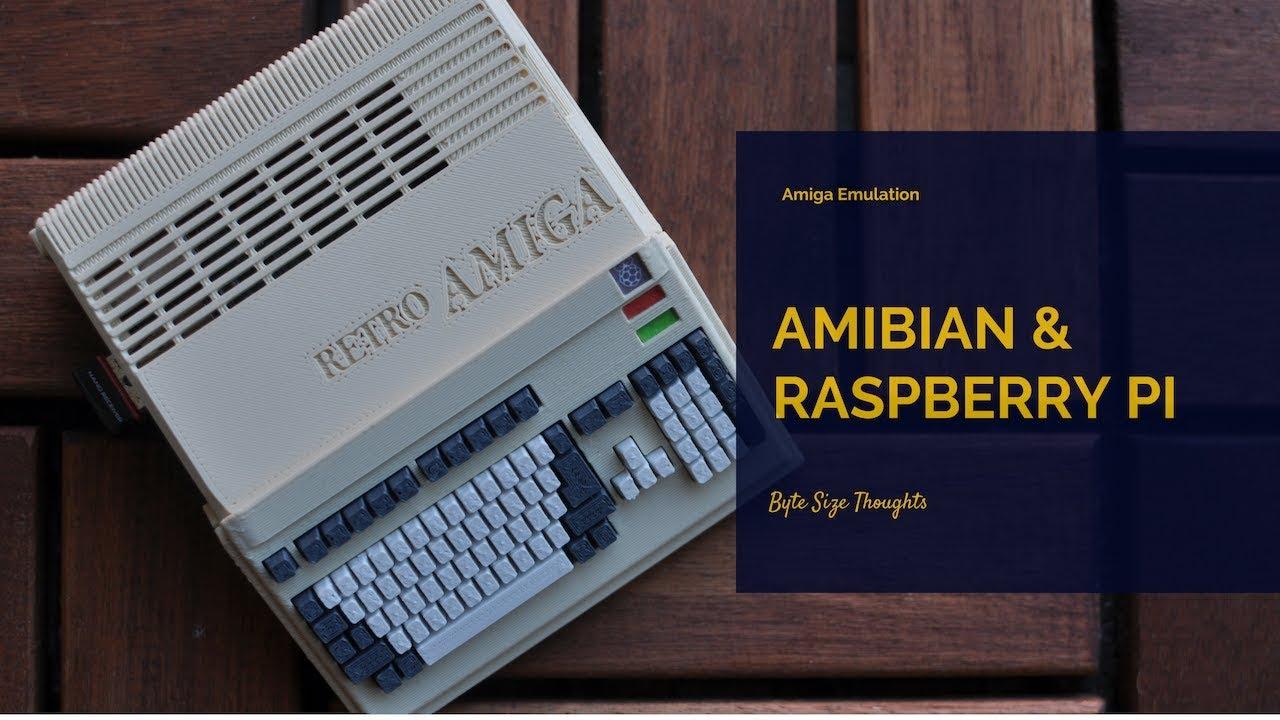 Amiga Emulation with Amibian & Raspberry Pi 3