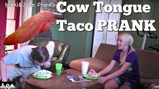 COW TONGUE TACO PRANK - Top Girlfriend and Boyfriend Pranks