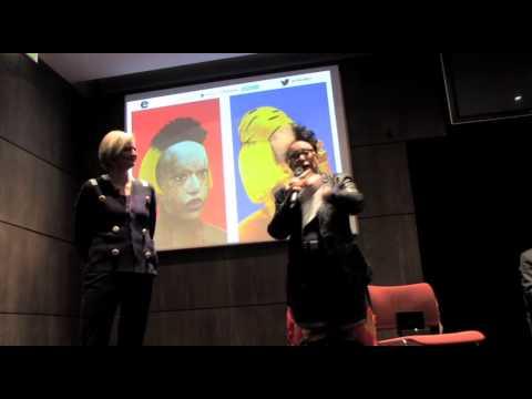 Discours d'ORLAN chez Christie's 1ère artiste la plus populaire sur le Net français en 2013