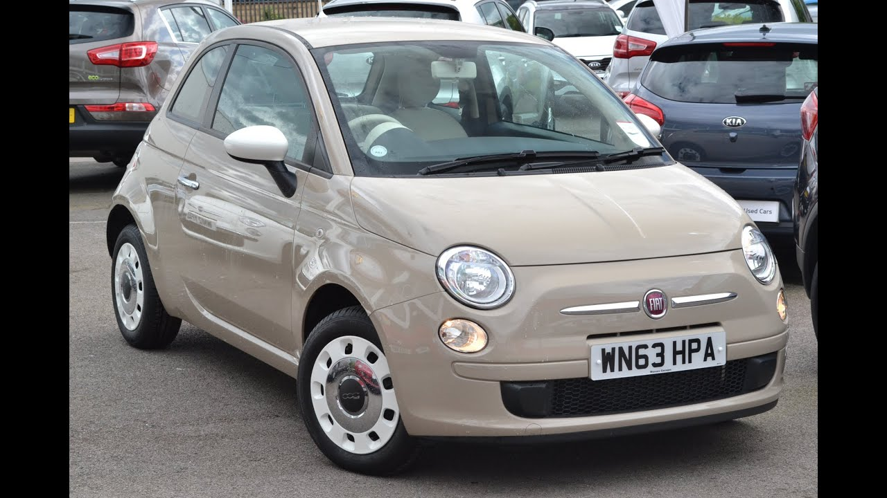 Used Car Fiat 500 New Age Cream Wn63hpa Wessex